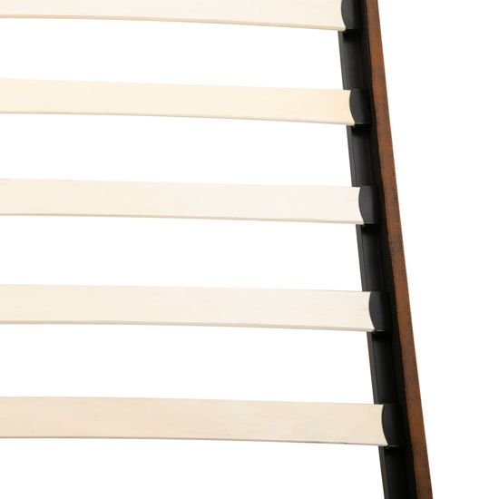 shumee barna művelúr ágykeret 140 x 200 cm
