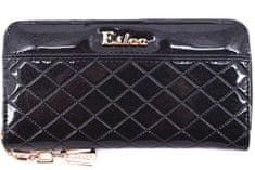 Arteddy Dámská / dívčí lakovaná peněženka pouzdrového typu Eslee - tmavě modrá