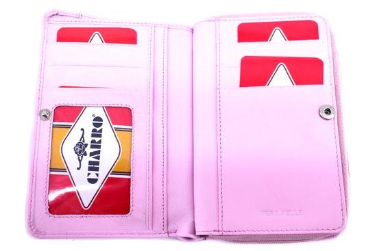 Arteddy Kožená peněženka Charro - růžová