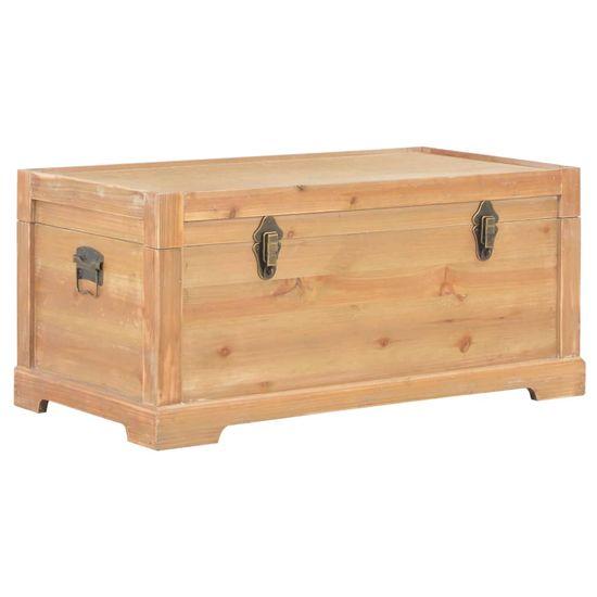 shumee Skrzynia ze schowkiem, siedzisko z poduszką, 80x40x40 cm, MDF