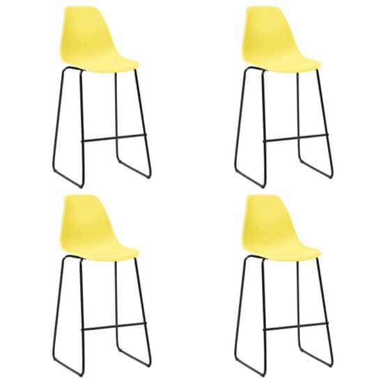 shumee 5-részes sárga műanyag bárszett
