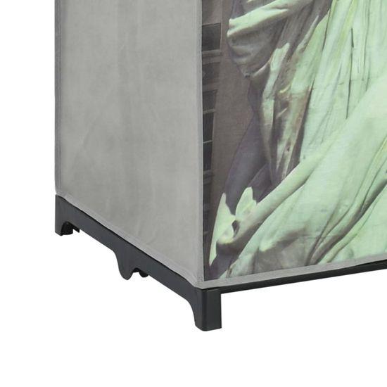 shumee Szafa Nowy Jork, 75x45x160 cm, tkanina