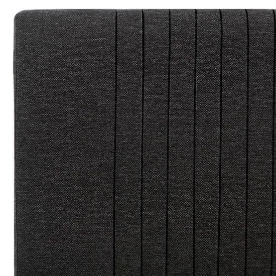 shumee Posteljni okvir temno sivo blago 100x200 cm