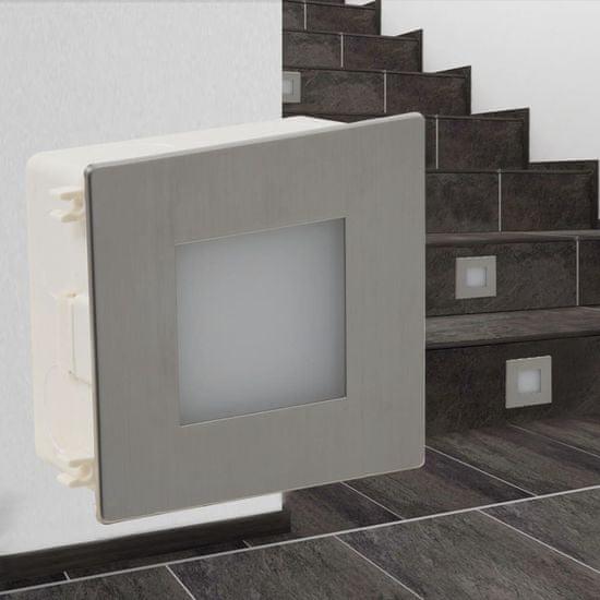 shumee 2 Lampki na schody LED w obudowie 85 x 85 x 48 mm