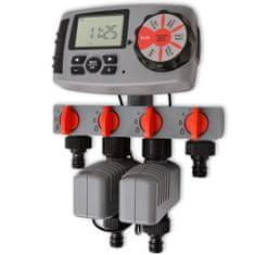 42352 Automatický zavlažovací časovač se 4 stanicemi 3 V