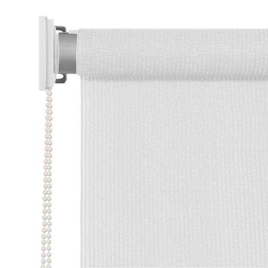 shumee Vonkajšia zatemňovacia roleta, 350x140 cm, biela
