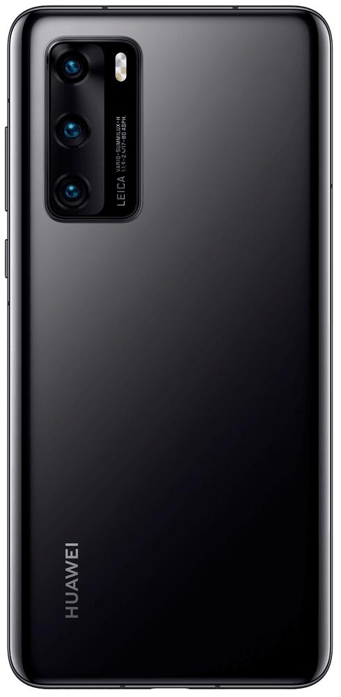 Huawei P40 5G, 8GB/128GB, Black - zánovní