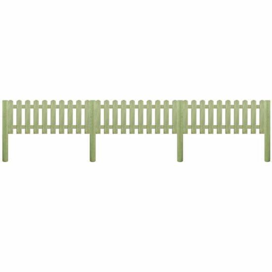 shumee Ograja iz impregnirane borovine 5,1 m 110 cm 6/9 cm