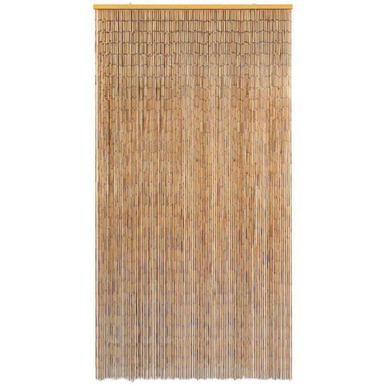 shumee Komarnik za vrata iz bambusa 120x220 cm