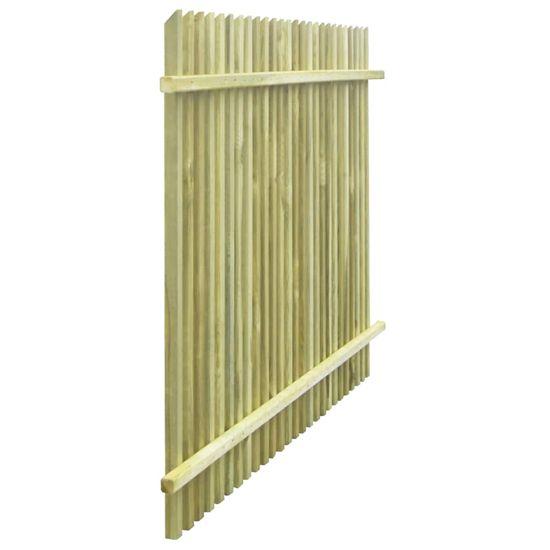 shumee Vrtna ograja iz impregnirane borovine 170x125 cm