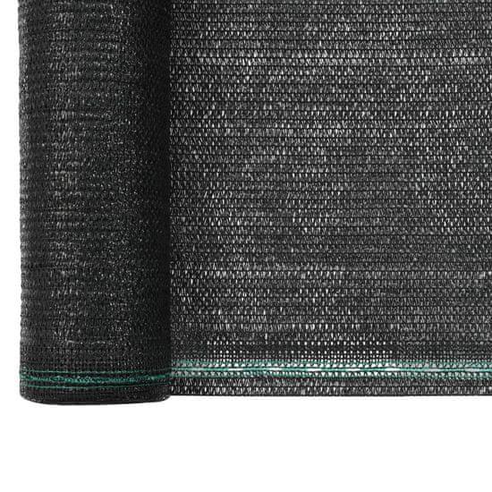 shumee Teniška zaščitna mreža HDPE 1,2x50 m črna