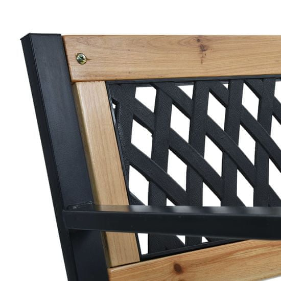shumee Vrtna klop 120 cm lesena
