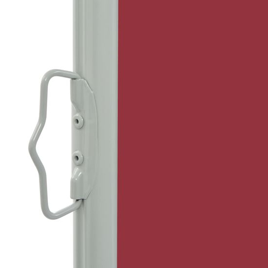 shumee Zwijana markiza boczna na patio, 140 x 300 cm, czerwona