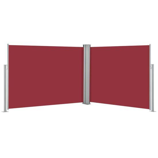 shumee Zwijana markiza boczna, czerwona, 140 x 1000 cm