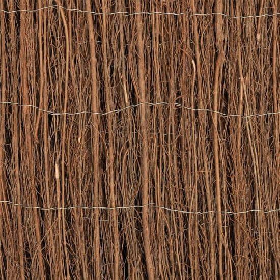 shumee rőzsekerítés 600 x 100 cm