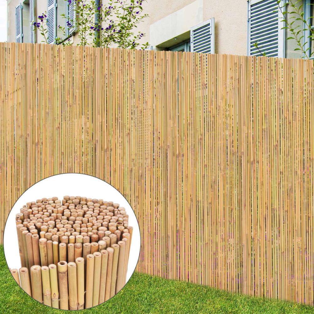 shumee Bambusový plot 300x130 cm