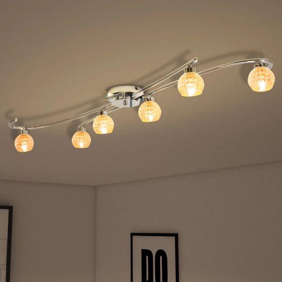 shumee Lampa sufitowa na 6 żarówek LED G9 240 W