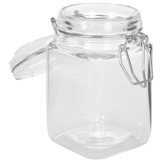 shumee Stekleni kozarci za marmelado z zapiralom 12 kosov 260 ml