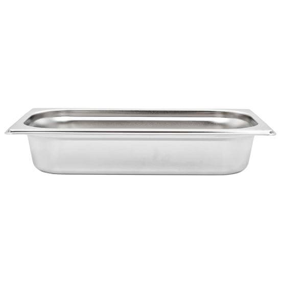 shumee Gastronomske posode 8 kosov GN 1/3 65 mm nerjaveče jeklo