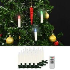 shumee Bożonarodzeniowe świece LED, bezprzewodowe, z pilotem, 20 szt.