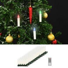 shumee Bożonarodzeniowe świece LED, bezprzewodowe, z pilotem, 100 szt.