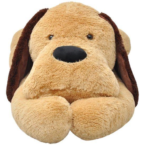 shumee Pluszowy piesek przytulanka 160 cm, brązowy