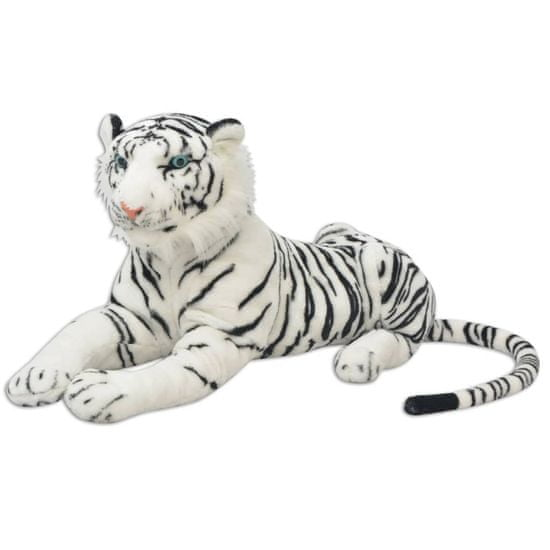 shumee 80164 Tiger Toy Plush White XXL - Untranslated