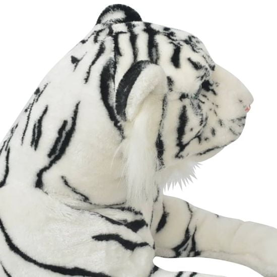 shumee 80164 Tiger Toy Plush White XXL - Untranslated