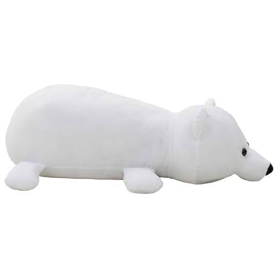slomart Plišasta igrača polarni medved bel