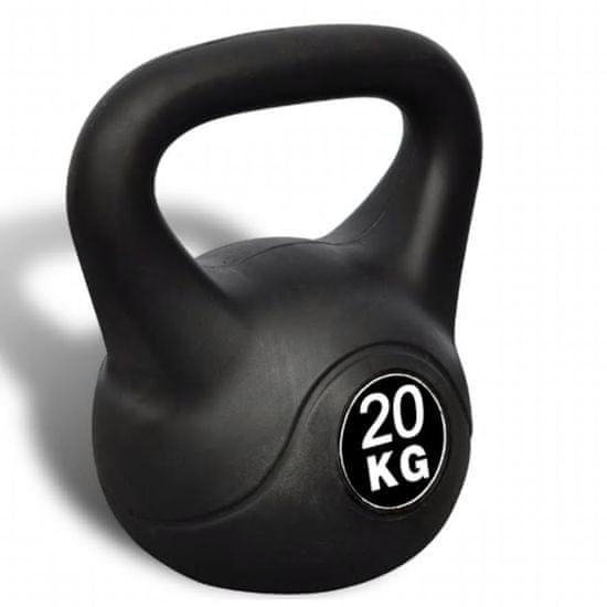 shumee Kettlebell Utež v Obliki Zvona 20 kg