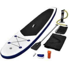 shumee Nafukovací Stand Up paddleboard (SUP) modro-bílý