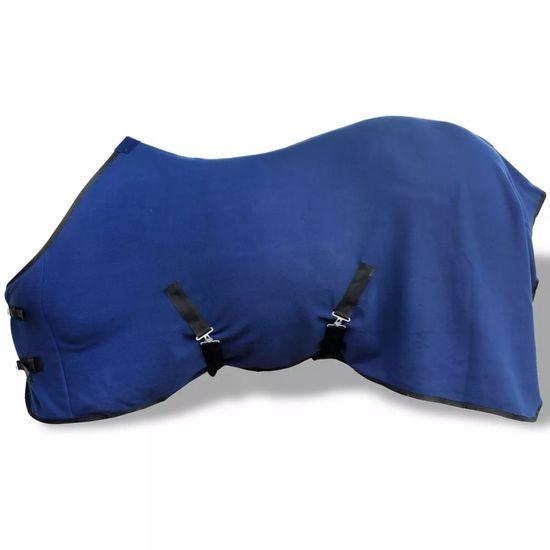 shumee Gyapjú lótakaró felső hevederrel 115 cm kék