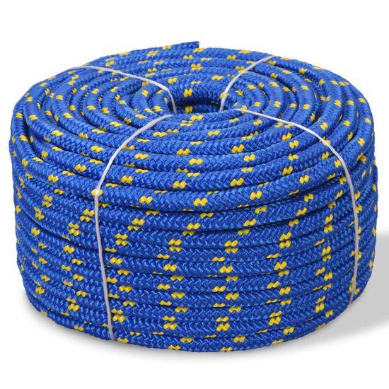 shumee Mornarska vrv polipropilen 14 mm 50 m modra