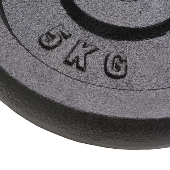 shumee Uteži 4 kosi 4x5 kg lito železo