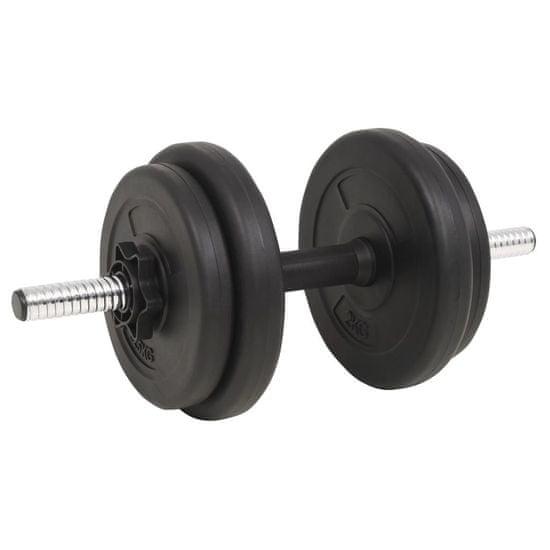 shumee Komplet uteži in ročk 60 kg