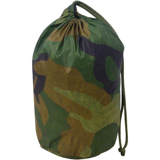 shumee Kamuflažna mreža z vrečo za shranjevanje 1,5x10 m