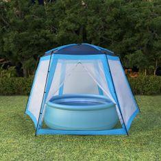 Stan na bazén 500 x 433 x 250 cm modrý