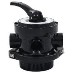 shumee többkimenetes 4-funkciós ABS homokszűrő-szelep 38 mm