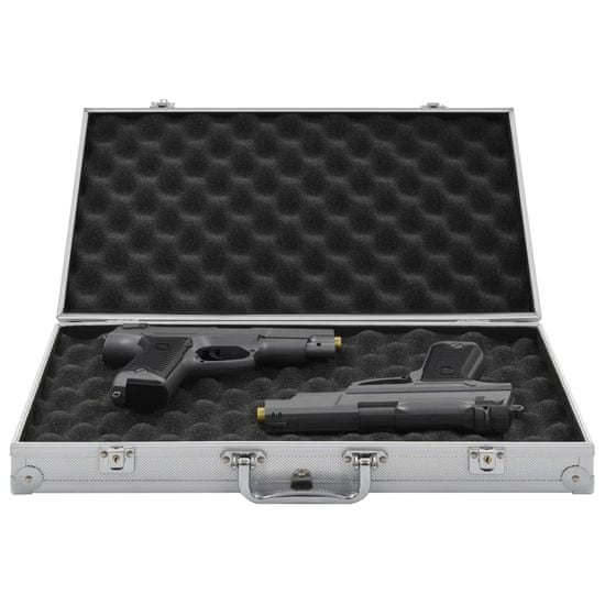 shumee Kufrík na zbraň hliníkový ABS strieborný