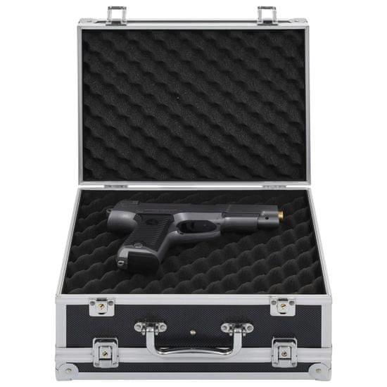 shumee Kufrík na zbraň hliníkový ABS čierny