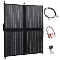 shumee Skladacia solárna nabíjačka 80 W 12 V