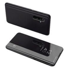 MG Clear View usnjeni ovitek za Xiaomi Mi Note 10 / Mi Note 10 Pro, črna