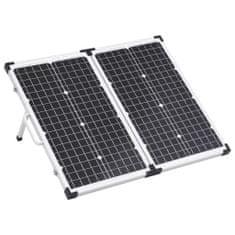 shumee Skladací solárny panelový kufrík 60 W 12 V