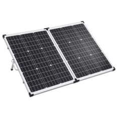 shumee Skladací solárny panelový kufrík 120 W 12 V