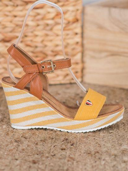 Sandały damskie 63342 + Skarpetki Gatta Calzino Strech