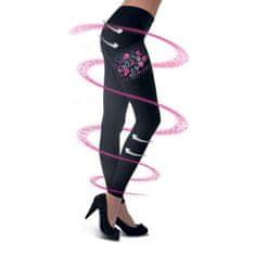 Lanaform Cosmetex Legging 40 hlače za hujšanje in oblikovanje postave, črne, S