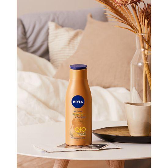 Nivea Zpevňující tónovací tělové mléko Q10 Firming + Bronze (Body Lotion) 400 ml