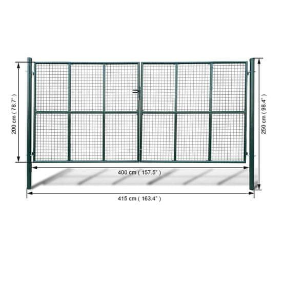 shumee Hálórácsos kerti kapu 415 x 250 cm / 400 x 200 cm