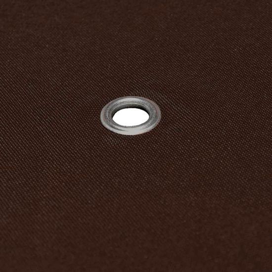 shumee Zadaszenie do altany, 310 g/m², 3 x 4 m, brązowe