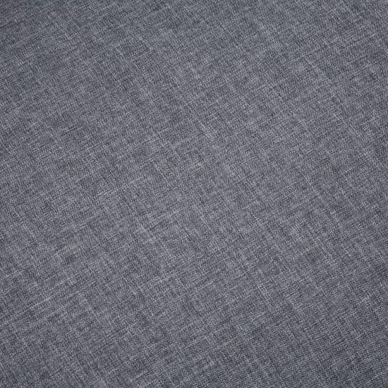 shumee Sedežna garnitura za 6 oseb 3-delna iz blaga temno siva